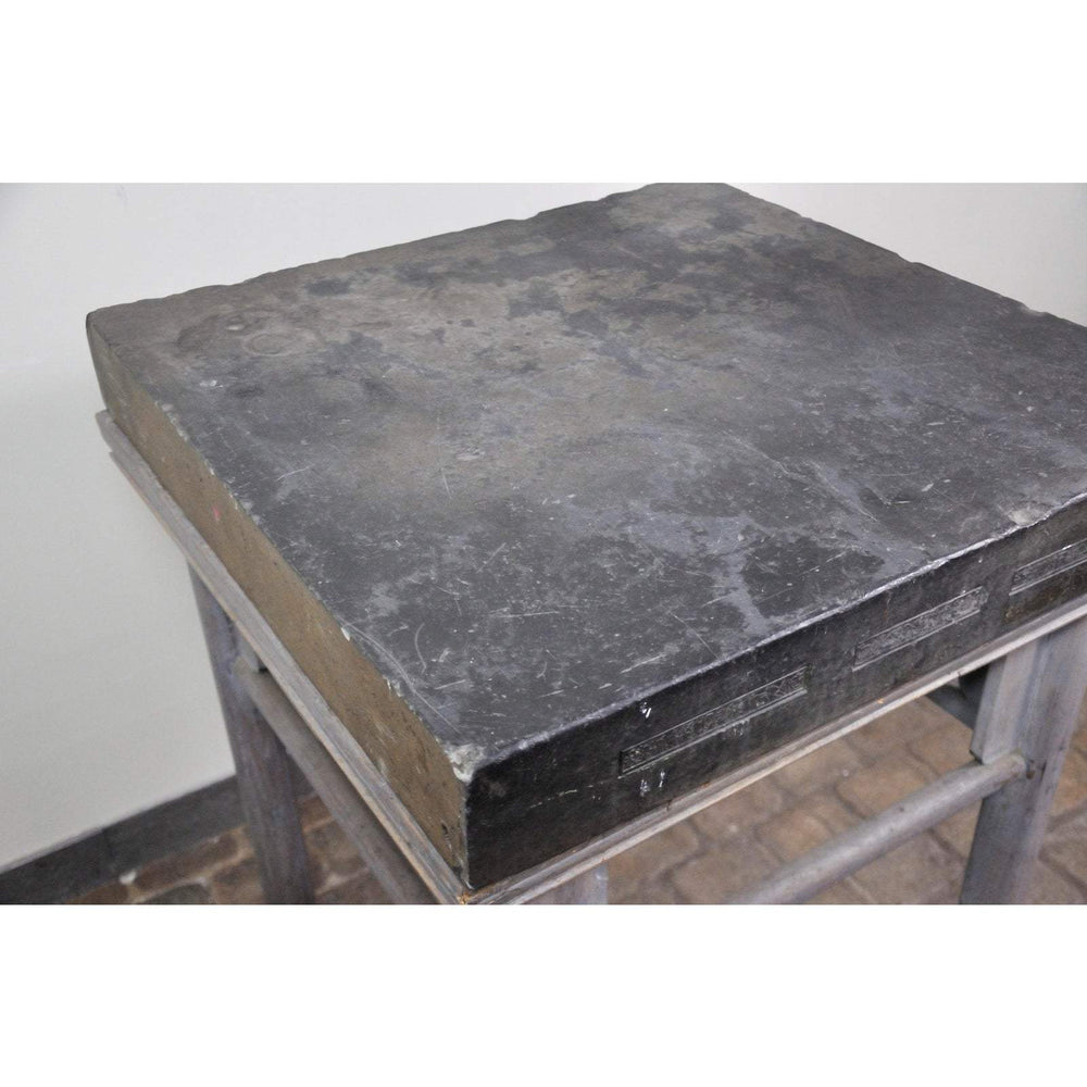 17th Century Chinese Stone Top Incense Table From the Qing Dynasty