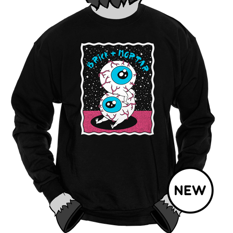 Eyeball Boys [ Crewneck Sweatshirt ]