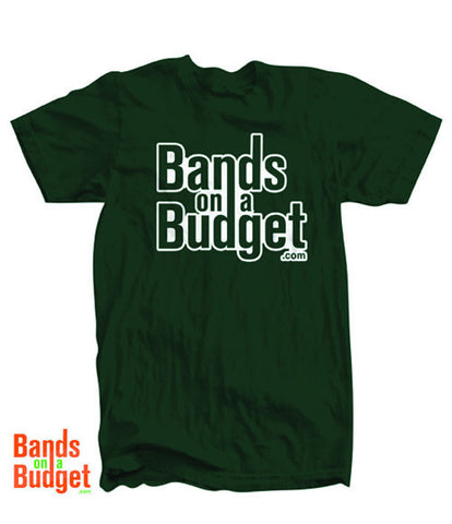 Bands on a Budget American Apparel T-shirt - Forest Green