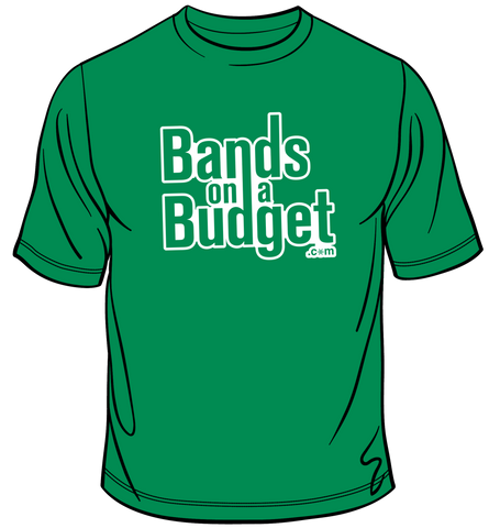 Bands on a Budget Snowflake T-Shirt - Green