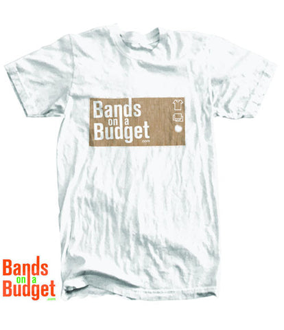 Bands on a Budget Hanes T-Shirt - White