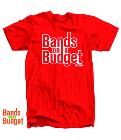 Bands on a Budget Jerzees T-Shirt - Cardinal