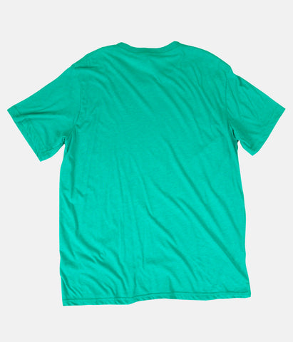 TOUGH LUCK T-SHIRT HEATHER SEA GREEN