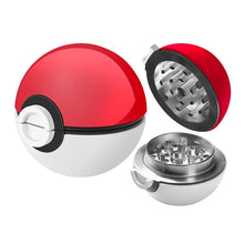 Load image into Gallery viewer, Pokemon Ball 3-Piece Grinder With Screen-MN Mean Merch