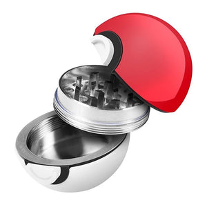 Pokemon Ball 3-Piece Grinder With Screen-MN Mean Merch
