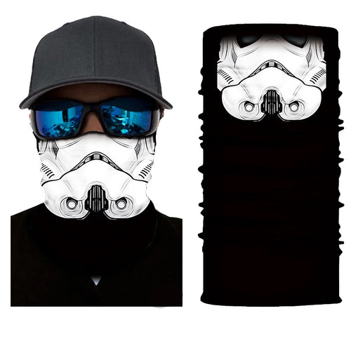 Neck Gaiter/Face Mask - Storm Trooper-Accessories-MN Mean Merch