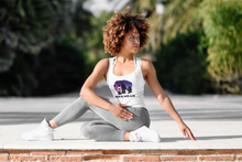 Load image into Gallery viewer, Women's Ideal Racerback Tank - Galaxy Panda-Tank Top-MN Mean Merch