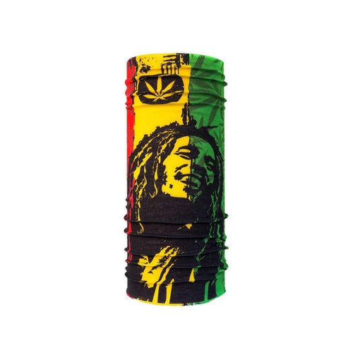 Neck Gaiter/Face Mask - Bob Marley-MN Mean Merch