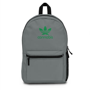 Backpack (Made in USA) - Grey Leaf-Bags-MN Mean Merch