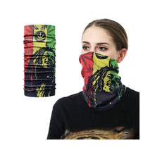 Load image into Gallery viewer, Neck Gaiter/Face Mask - Bob Marley-MN Mean Merch