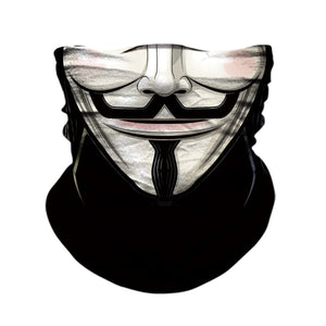Neck Gaiter/Face Mask - Anonymous V-MN Mean Merch