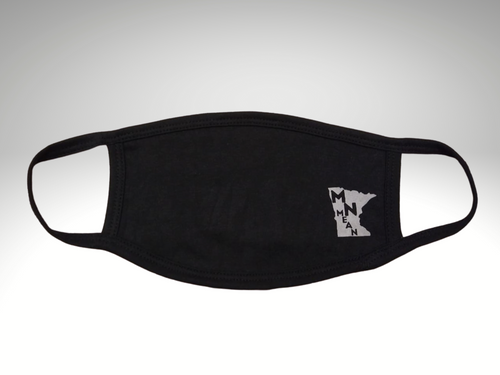 3-Layer Cotton Reusable Face Mask-MN Mean Merch