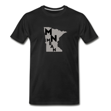 Load image into Gallery viewer, Men's Organic Cotton Graphic T-Shirt - MN Mean-Men's Premium Organic T-Shirt-MN Mean Merch