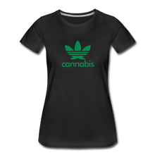 Load image into Gallery viewer, Women's Organic Cotton Graphic T-Shirt - Leaf-Women's Premium Organic T-Shirt-MN Mean Merch