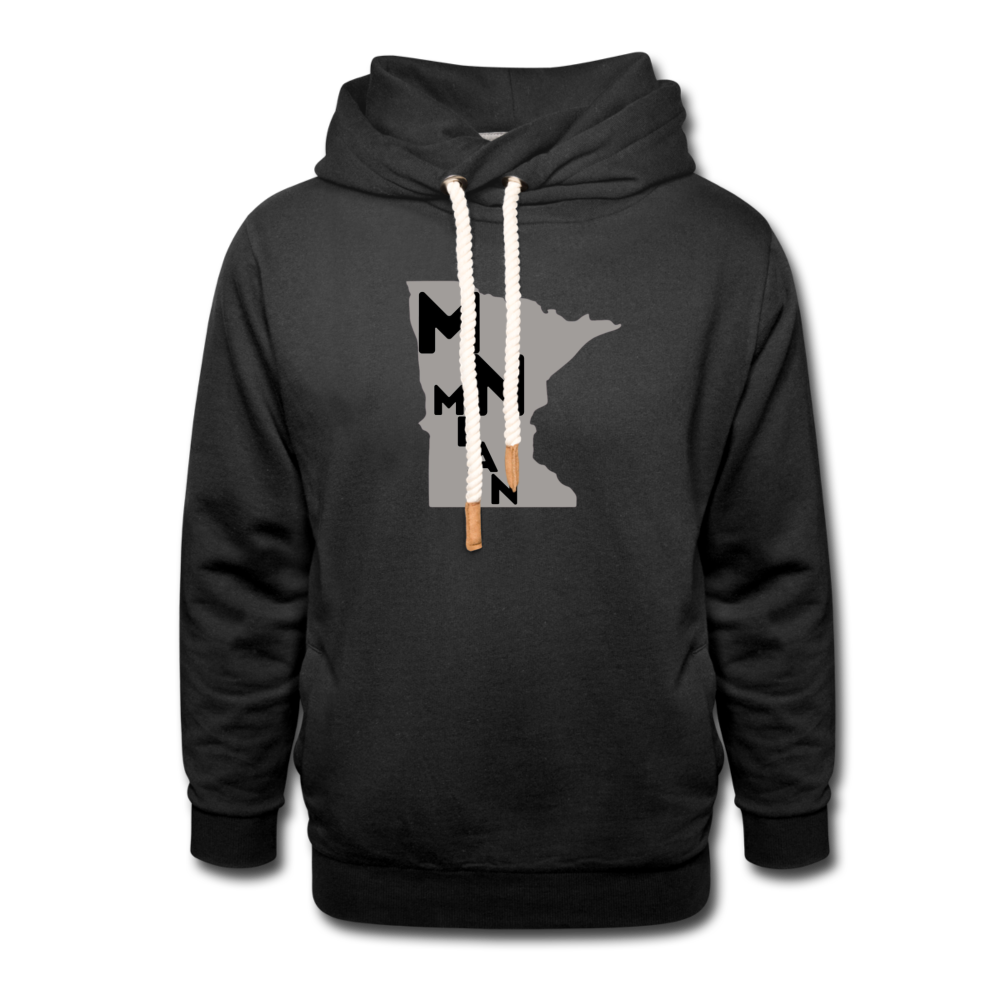 Shawl Collar Hoodie - MN Mean II-Unisex Shawl Collar Hoodie-MN Mean Merch