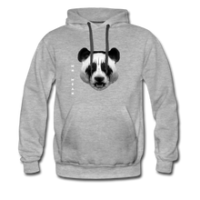 Load image into Gallery viewer, Men's Premium Hoodie - Mean Panda-Men's Premium Hoodie-MN Mean Merch