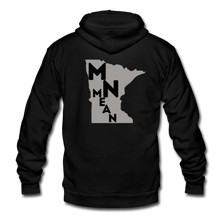 Load image into Gallery viewer, American Apparel Fleece Zip Hoodie - MN Mean-Unisex Fleece Zip Hoodie-MN Mean Merch