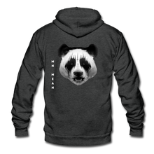 Load image into Gallery viewer, Unisex Fleece Zip Hoodie - Mean Panda-Unisex Fleece Zip Hoodie-MN Mean Merch