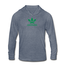 Load image into Gallery viewer, Unisex Tri-Blend Hoodie Shirt - Leaf-Unisex Tri-Blend Hoodie Shirt-MN Mean Merch