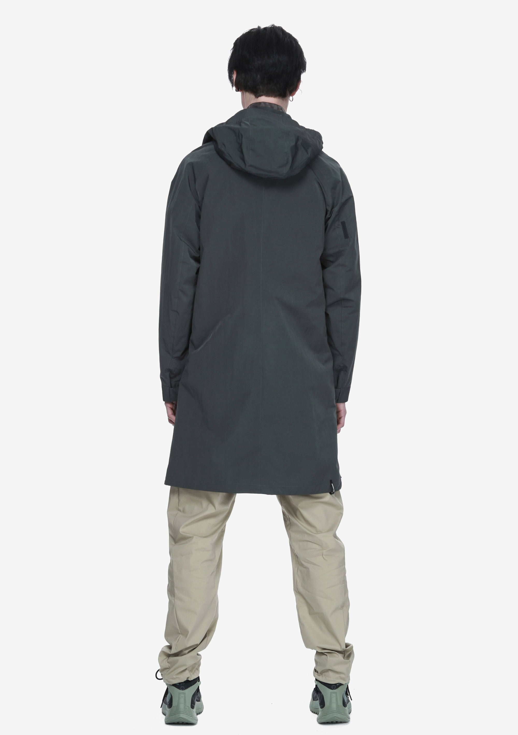 Hooded Trench Coat Qm285-52 MASARU