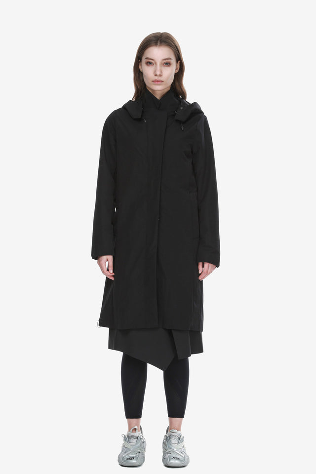 Hooded Trench Coat Qw290-1 MASARU