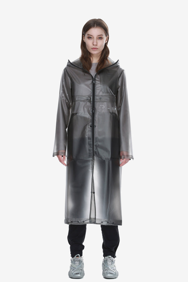 Welded Transformable Raincoat Qw297-2 TETHYS