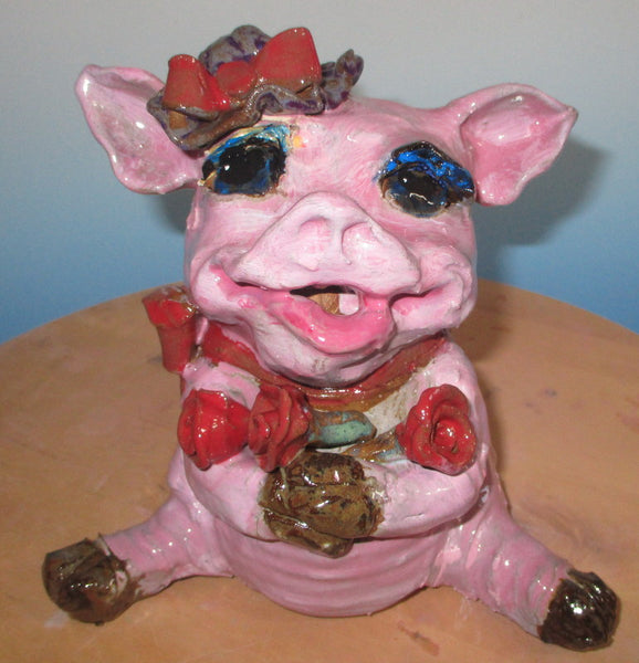 Pretty Piggy Sculpture