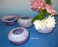 Ikebana Purple Round