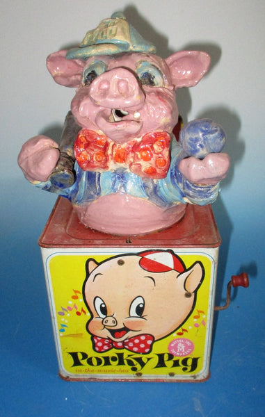 Porky Pig Play Ball Jack in the Box
