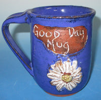 Good  Day Mug with Flower