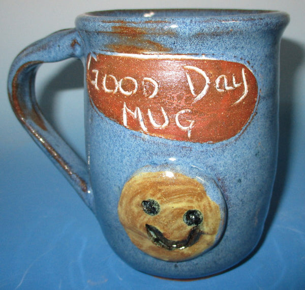 Good  Day Mug with Happy Face