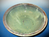 Very Large Green Serving Bowl