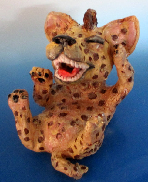 Laughing Hyena Sculpture