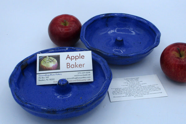 Copy of Apple Baker with instructions Cobalt Blue