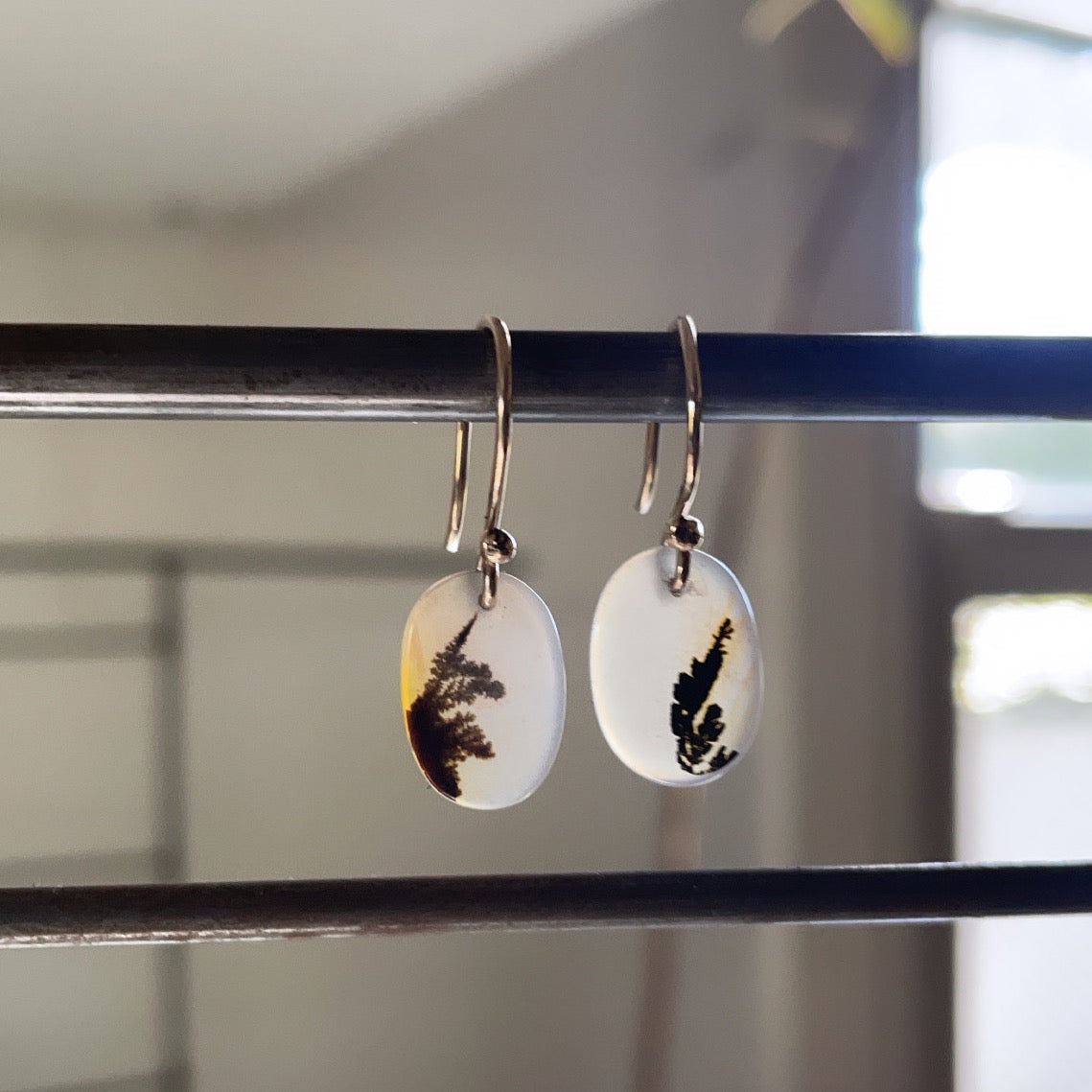 Pointing up earrings-serena kojimoto studio