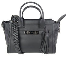 Load image into Gallery viewer, Coach | Black Leather Tote with Shoulder Strap