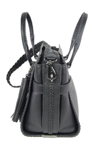 Coach | Black Leather Tote with Shoulder Strap
