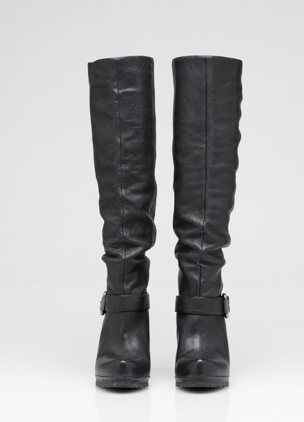 Yael Leather Slouch Boot | Size 7.5