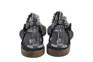 Balenciaga | Arena Leather Ink Sandals w/Tags Sz 9.5