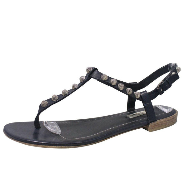 Arena Leather Ink Sandals | Size 9.5