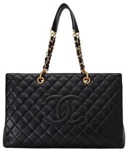 Chanel | Quilted Caviar Grand Shopper Tote GST XL