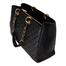 Load image into Gallery viewer, Chanel | Quilted Caviar Grand Shopper Tote GST XL