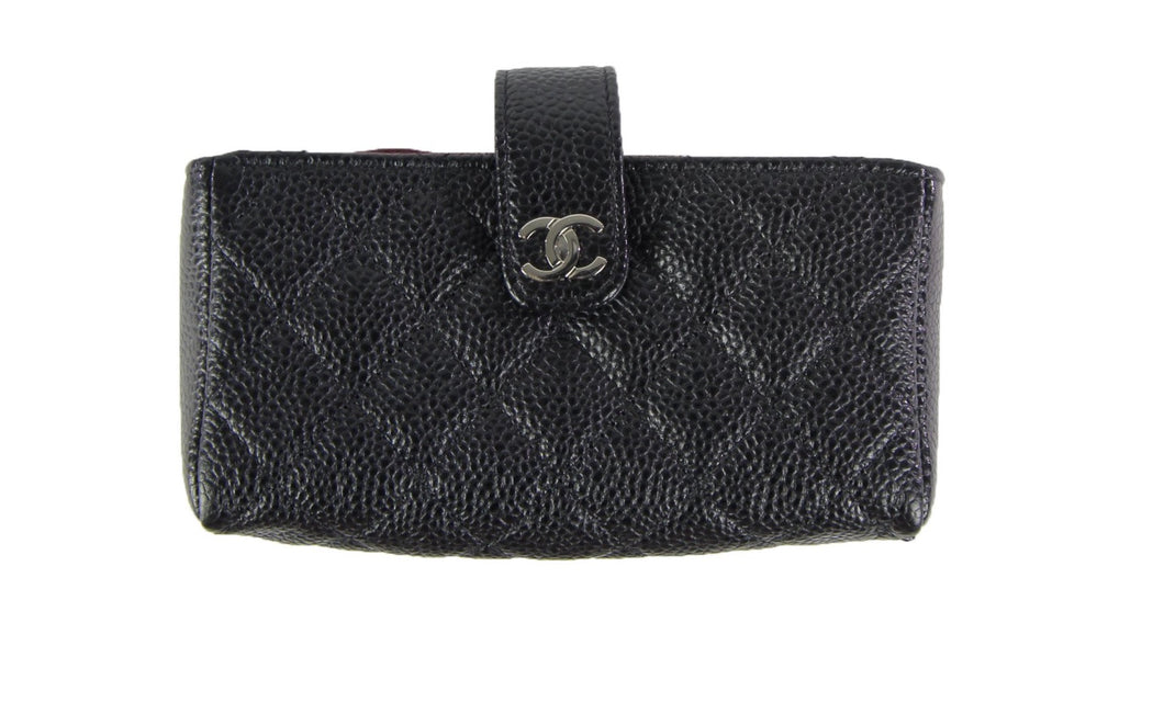 Chanel | Black Caviar Leather Mini