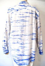 Load image into Gallery viewer, Equipment Silk Tye Dye Button Down Shirt/Blouse