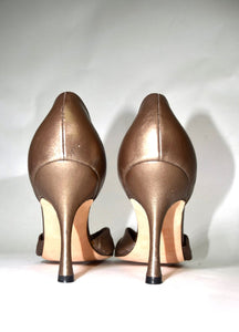 Manolo Blahnik | Bronze Pump 6/36