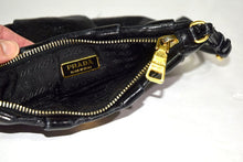 Load image into Gallery viewer, Prada | Daino Pleated Wristlet Black  (Nero)