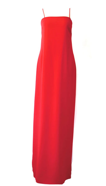 Red Maxi Dress | Size 10 / Large