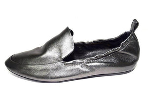 Lanvin | Moccasins in Gunmetal Leather Sz 11/41