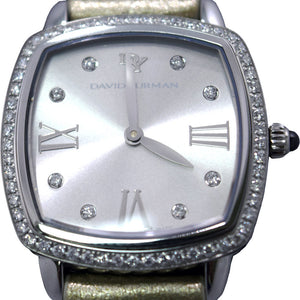 David Yurman | Albion 27mm Silver Metallic Swiss Quartz Watch