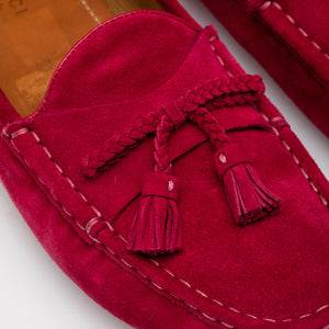 Gucci | Suede Tassel Loafers Sz 11/41